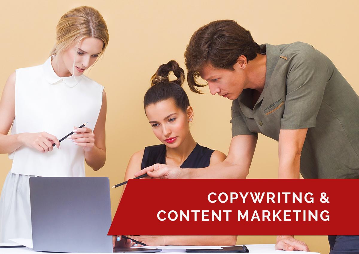 COPYWRITING & CONTENT MARKETING www.schoolofdigitaladvertising.com