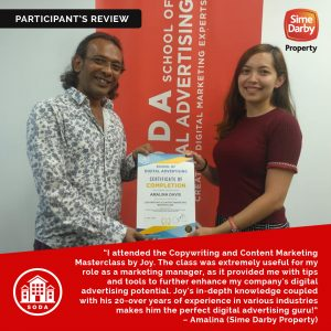 Copywriting & Content Marketing Course in Malaysia